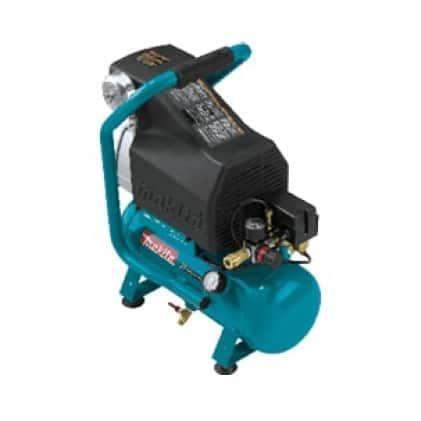 MAC700 Makita gas twin stack air compressor with 4 pole motor