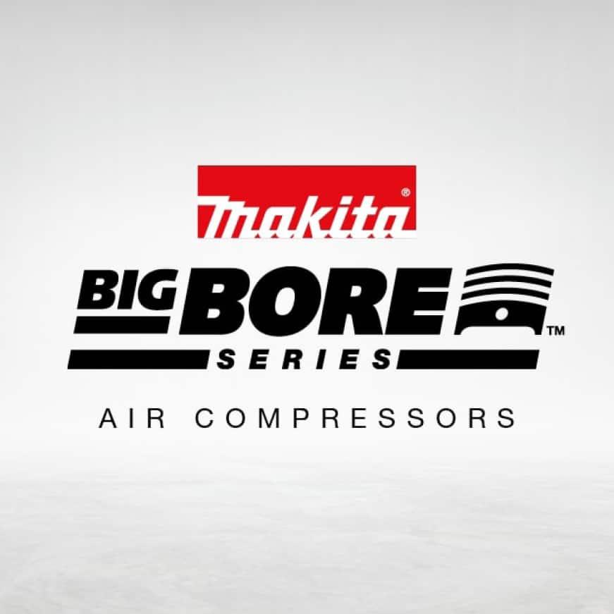 Makita Big Bore air compressors for air tools