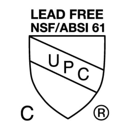 Certified for safety and utility by IAPMO