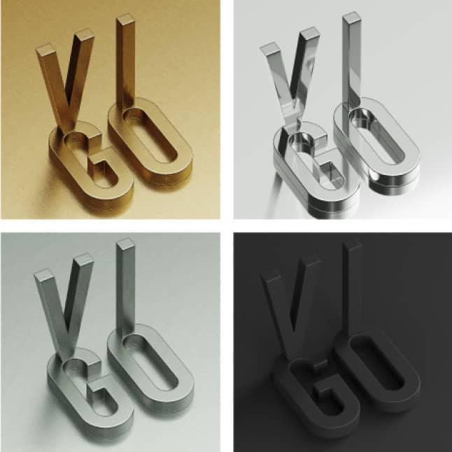 Hardware finishes are available in matte black, matte gold, stainless steel and chrome