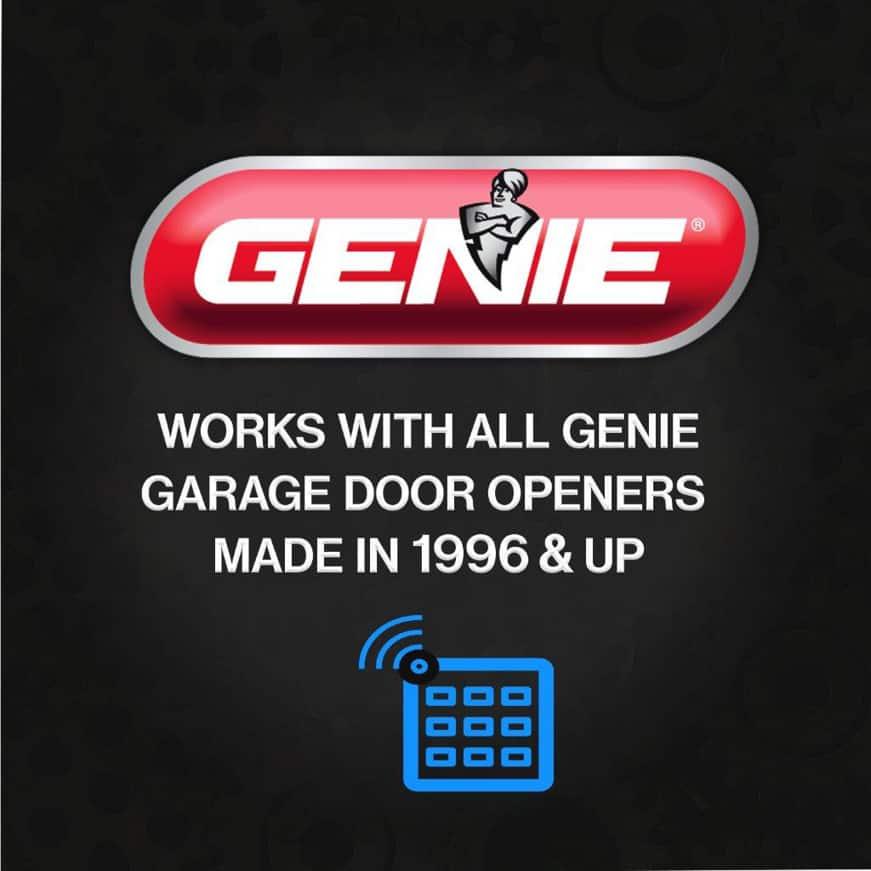 Genie garage door opener keypad since 1996