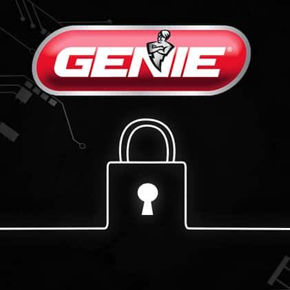Genie  garage door opener keypad rolling code