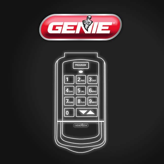 Genie  garage door opener keypad weatherproof
