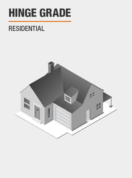 Residential Door Hinge Grade