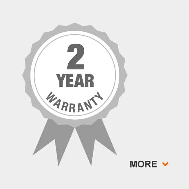 2 Year overall grill warranty