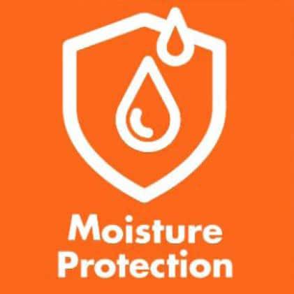 Provides Moisture Protection