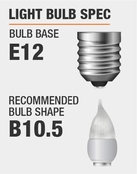 E12 Base B10.5 Bulb Recommended