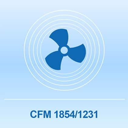 Lasko pedestal fan with 1854 CFM