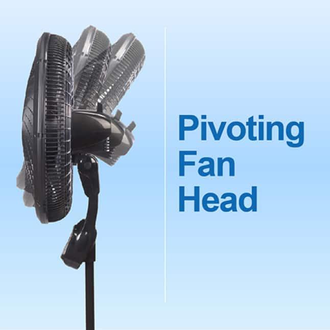 Pedestal Fan with Pivoting Fan Head