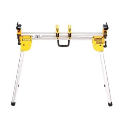 DWX724 Supports up to 500 lbs. and 10 ft. of material. Weighs only 29.8 lbs.