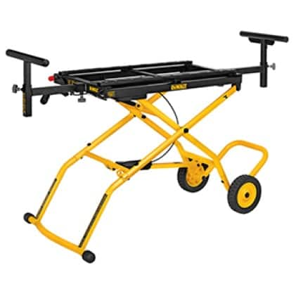 DWX726 Supports up to 300 lbs. and 8 ft. of material.