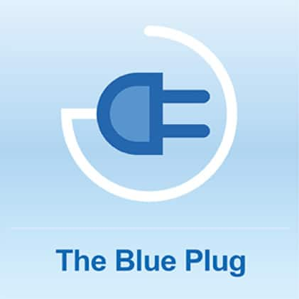 The Blue Plug with a 72 in. Cord