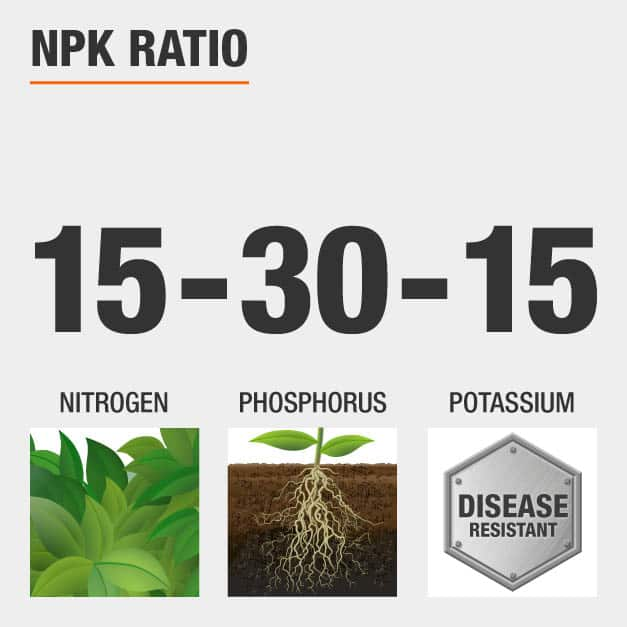 NPK Ratio 6-4-6