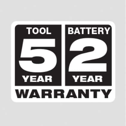 Five Year Tool, Two Year Battery