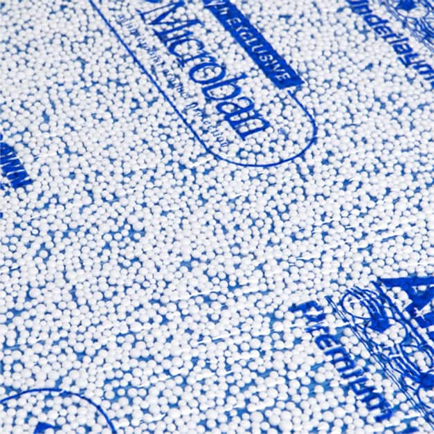 AirGuard corrects minor subfloor imperfections, cushions and blocks moisture from reaching flooring