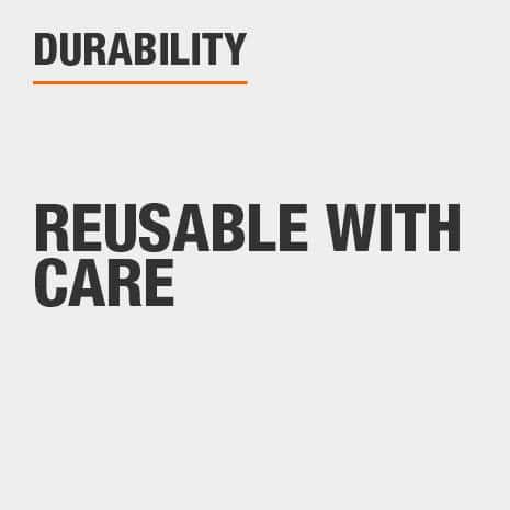 Reusable with care