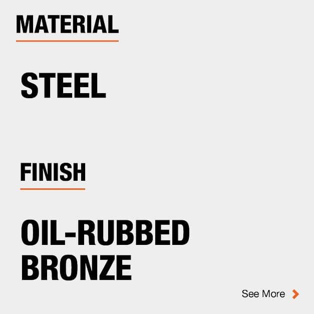 Door Hinge Steel Material and Oil-Rubbed Bronze finish