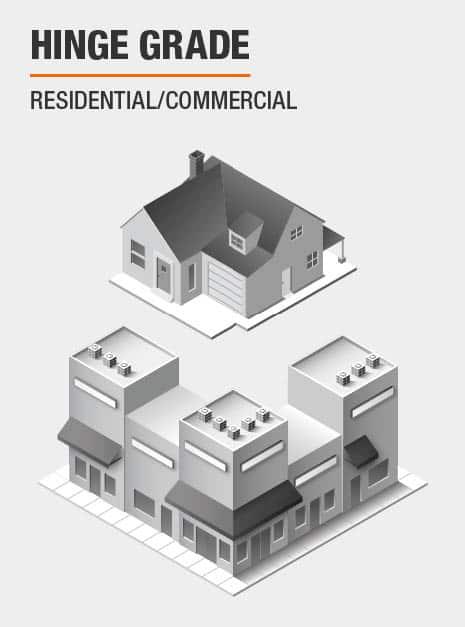 Residential/Commercial Door Hinge Grade