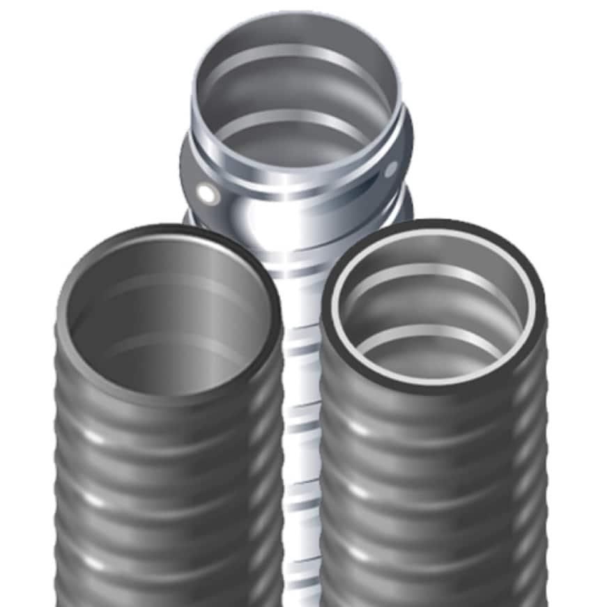 Southwire (Type-B) Liquidtight Non-Metallic and Metallic Flexible Conduit Assortment (Ultratite Liquidtight Non Metallic PVC