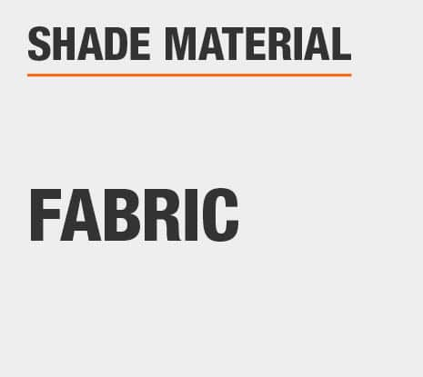 Product Shade Material: Fabric