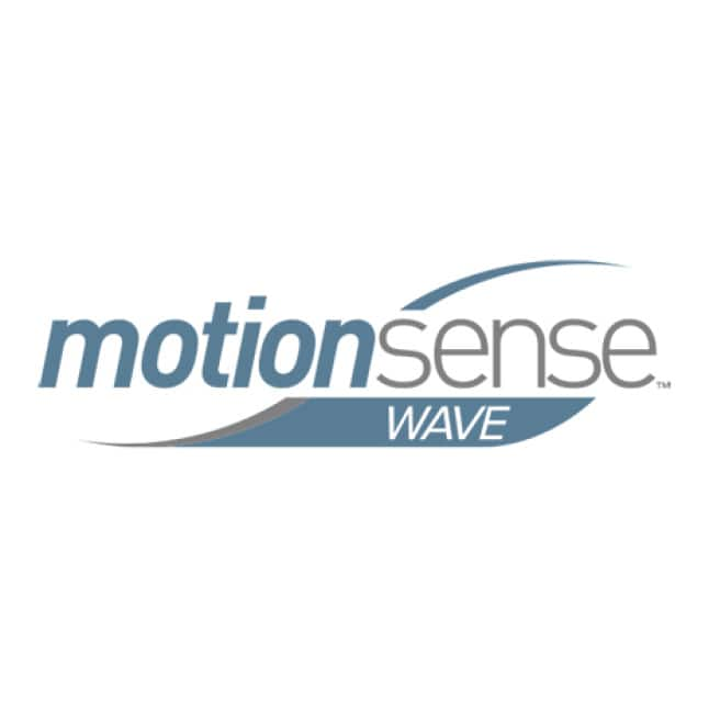 MotionSense features touchless activation. Easily turn water on and off with the wave of a hand. Hands-free feature helps control the spread of germs.