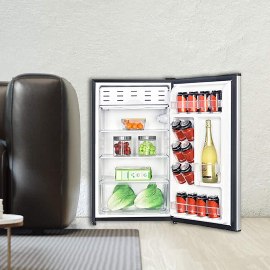 Well-designed fridge offers versatile storage options