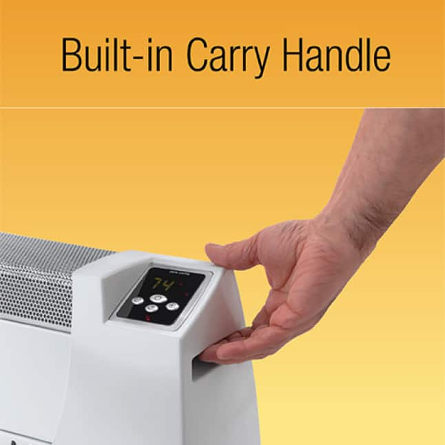 Built-in Carry Handle
