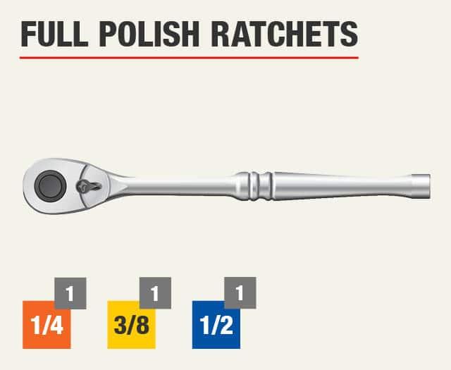 Full Polish Ratchets