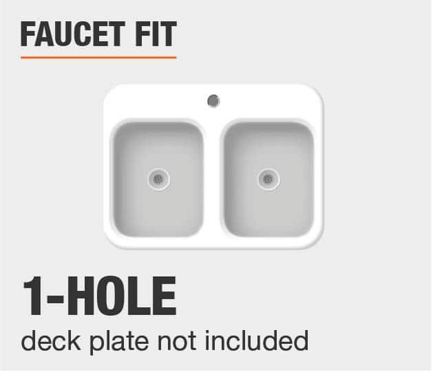 Faucet Fit 1 Hole