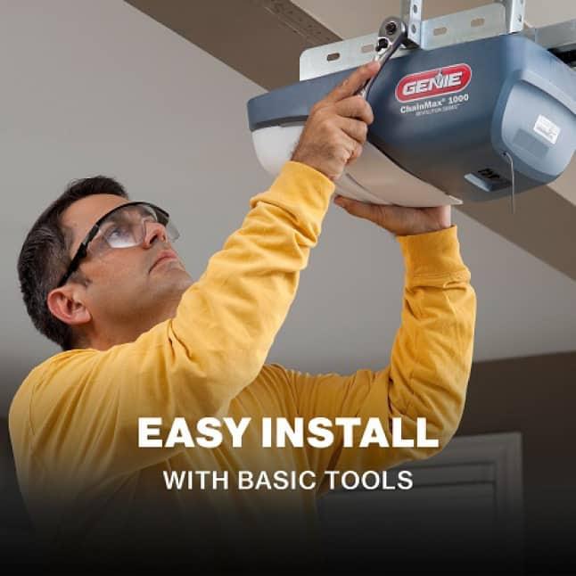 Genie ChainMax1000 - easy to install garage door opener