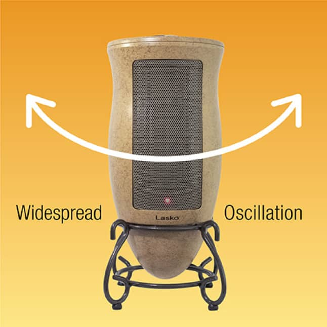 Oscillation for Heating Rooms Evenly