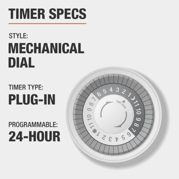 Timer Specs