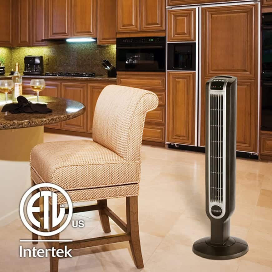 36 in. Lasko tower fan ideal for all rooms