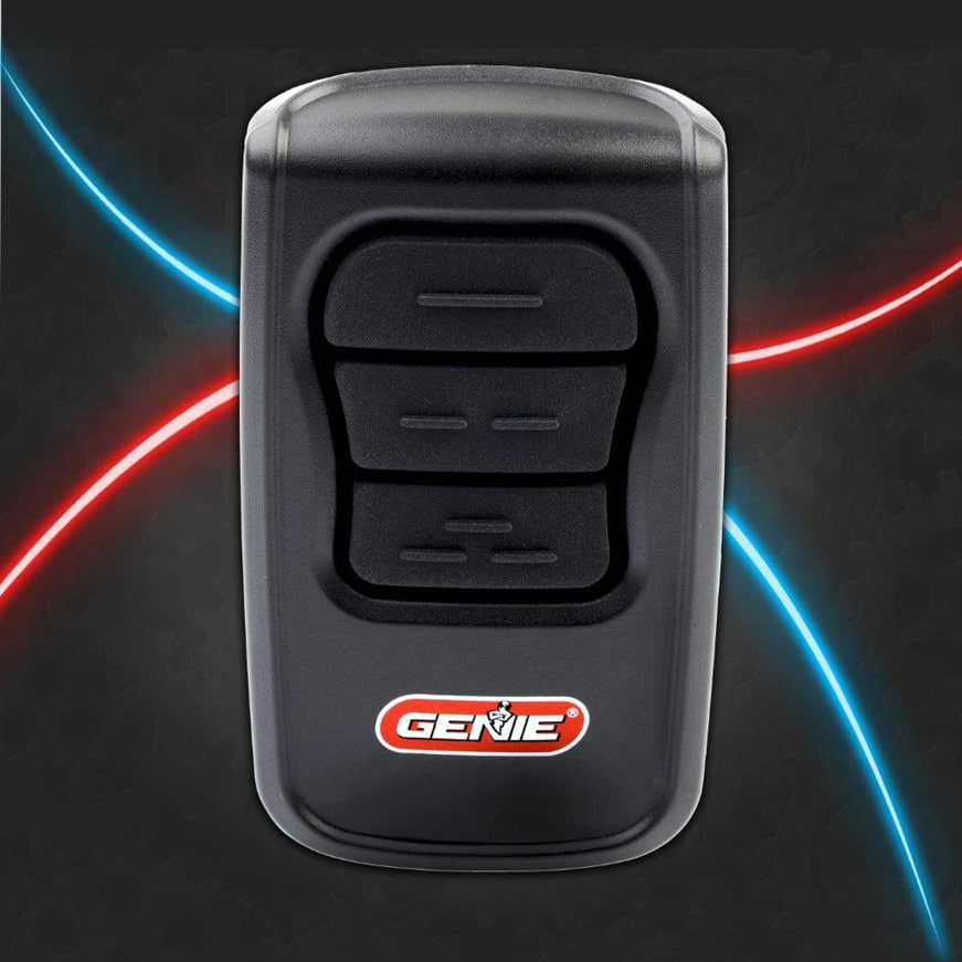 Genie master garage door opener remote all Genie