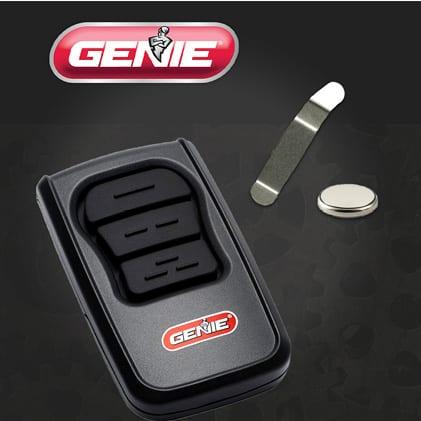 Genie master garage door opener remote visor
