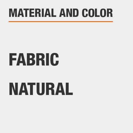 Material Fabric and Color Natural