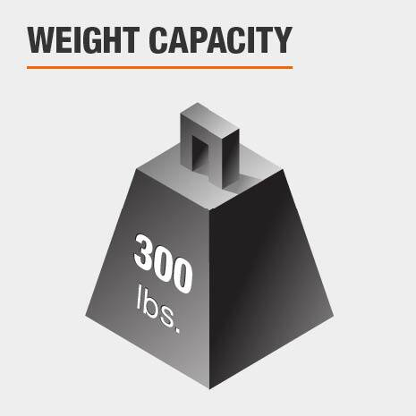Vanity Stool Weight Capacity 300 lbs