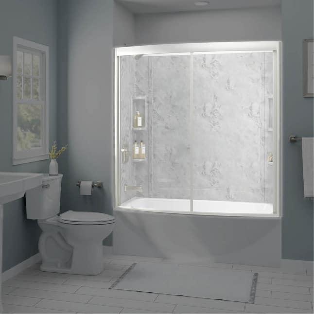 American Standard Ovation Curved Bathtub Door