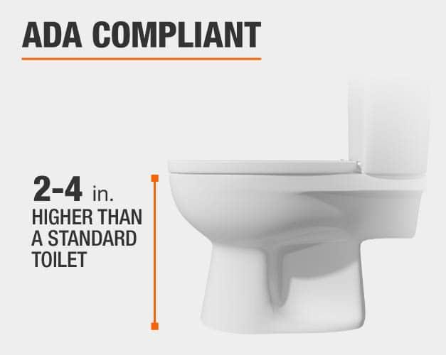 glacier bay ADA compliant toilet
