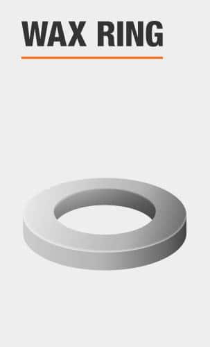 glacier bay toilet wax ring included