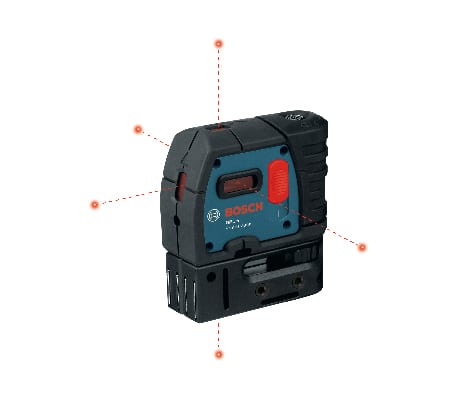 Product image of Bosch GPL 5 S with 5 points.
