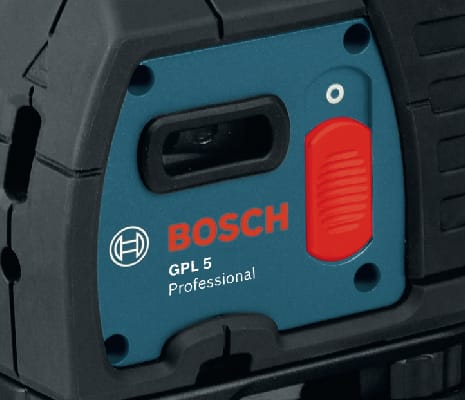 Close up of Bosch GPL 5 S.