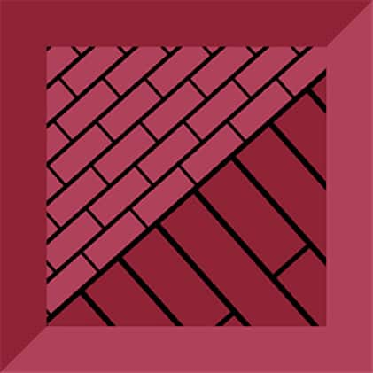 Several types of tile applications