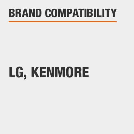 Replacement for select LG, Kenmore branded refrigerators