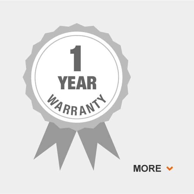 1 year overall grill warranty