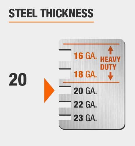 20-Gauge Steel Thickness