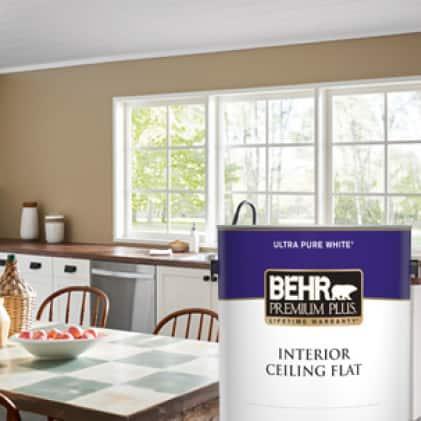 BEHR PREMIUM PLUS Interior Ceiling paint can