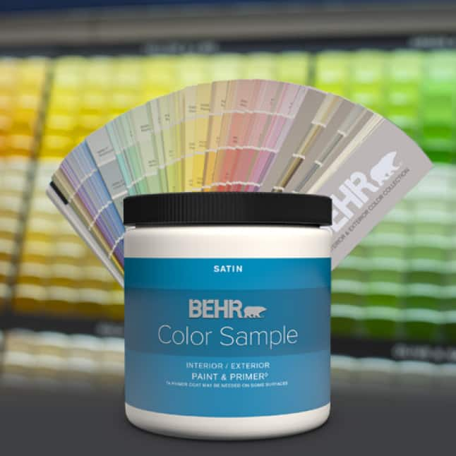 BEHR color chips