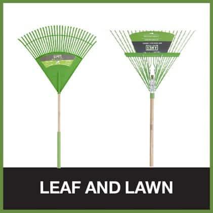 Leaf rakes for removing leaves