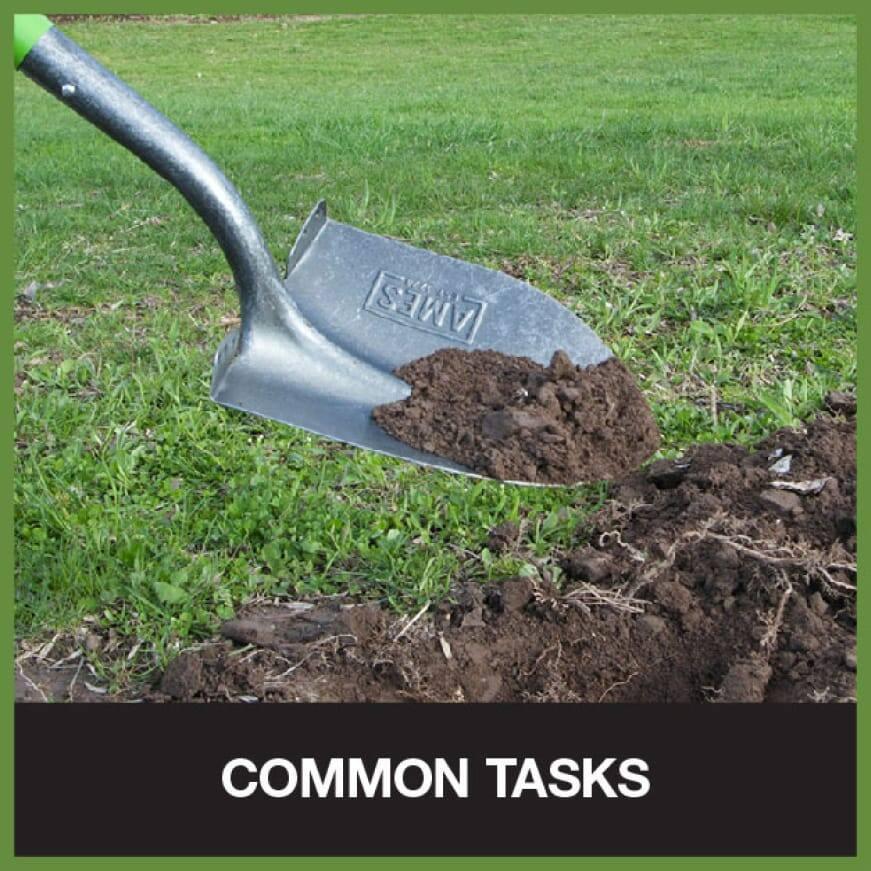 Shovels made for everyday tasks